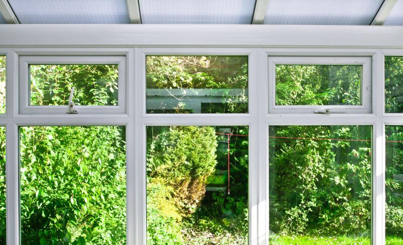 Fensterputzroboter für Wintergarten